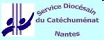 Logfo du service du catéchuménant à Nantes